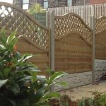 Installation of Garden Fence (photo)