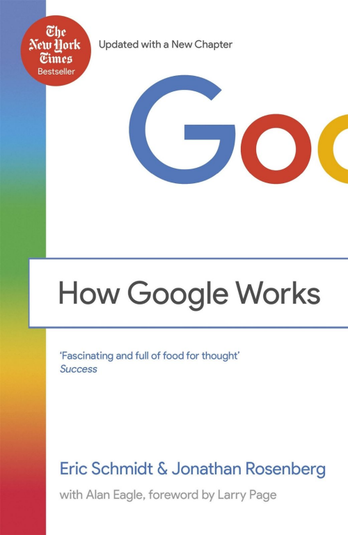 How Google Works (paperback book)