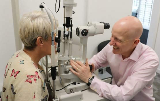 Alex Gage Family Optometrists (Sheffield) (photograph featuring Alex and Sarah Gage)