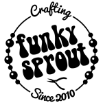 Funky Sprout ~ Crafting Since 2010 (logo)