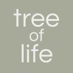 tree of life (text logo)